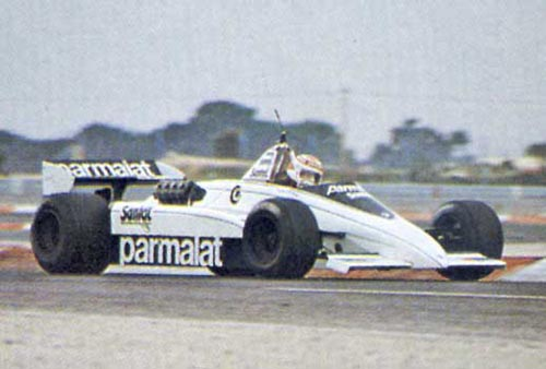 Brabham A Scrapped Project Of Ground Effect Car For