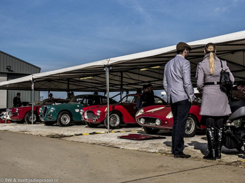 Atmosphere at the 2014 Goodwood Members Meeting
