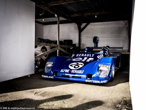 Alpine-Renault A441, 2014 Goodwood Members Meeting