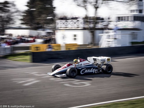 Toleman-Hart TG184, 2014 Goodwood Members Meeting