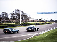 Simon Hadfield, Aston Martin DB4 GT, Oliver Bryant, Lotus Eleven GT 'Breadvan', 2014 Goodwood Members Meeting