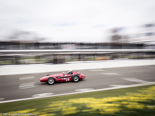 Graham Adelman, Maserati 250F, 2016 Goodwood Members Meeting
