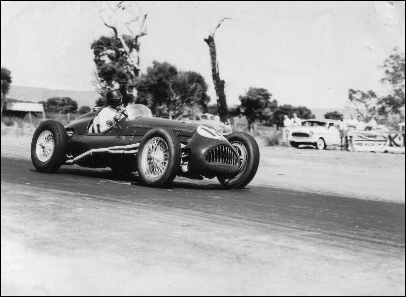 A Pre War Alta Peion Model In Circuit Racing Trim
