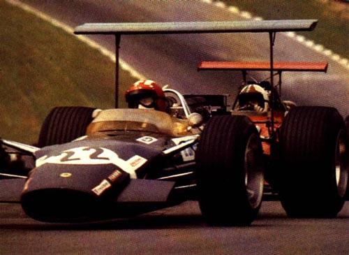 Jo Siffert, Chris Amon, 1968 British GP