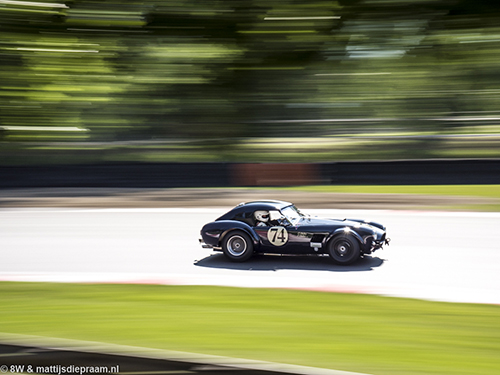 Chiles Sr/Chiles Jr AC Cobra, 2017 Brands Hatch Masters Festival