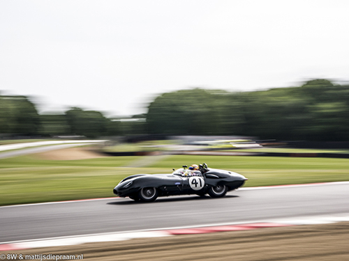 Chris Ward, Lister Costin, 2017 Brands Hatch Masters Festival