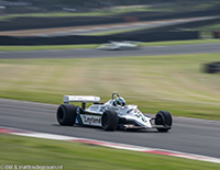 Nick Padmore, Williams FW07C, 2018 Brands Hatch Masters Festival