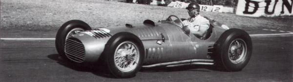 Fangio at the 1952 Abli GP in France.