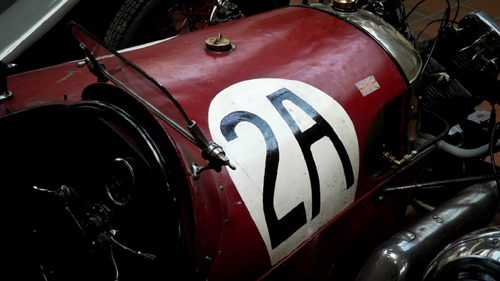 Brooklands, Morgan-JAP three-wheeler