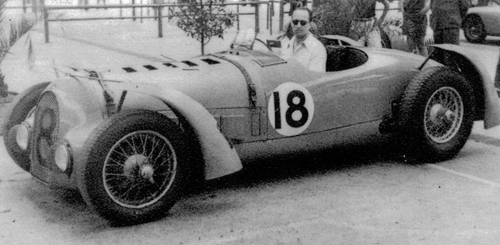 Charles Pozzi, Delahaye 175 (145/175), 1949 Comminges GP