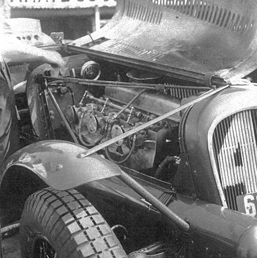 Delahaye 6047RK4 engine
