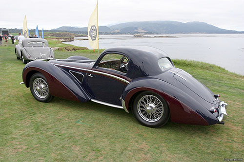 Delahaye 145 48773, Pebble Beach