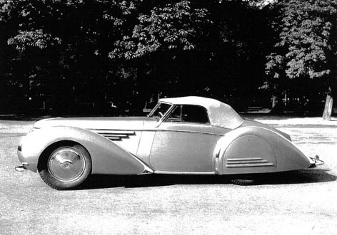 Delahaye 145 with Franay body