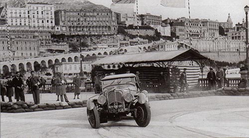 Jacques Ambaud, Delahaye 45538, Rally Monte Carlo 1936