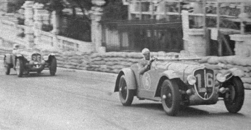 Joseph Paul, Delahaye, 1937 Paris-Nice rally