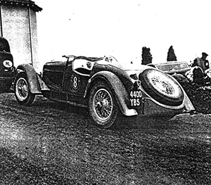 Joseph Paul, Delahaye 135S, Rally Paris-Nice 1936