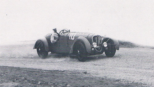 Jean Paul, Delahaye, 1937 Tunis GP