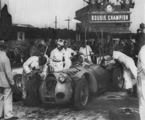 Delahaye 145, 1938 Reims 12 Hours