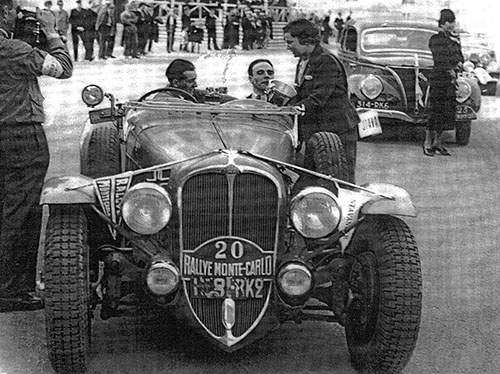 René Le Begue, 1937 Monte Carlo Rally