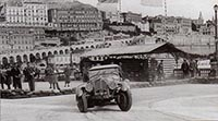Jacques Ambaud, Delahaye 135, 1936 Rally Monte Carlo