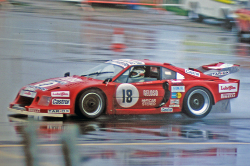 Ferrari 308 GTB Turbo Jolly Club, 1981 Silverstone 1000kms