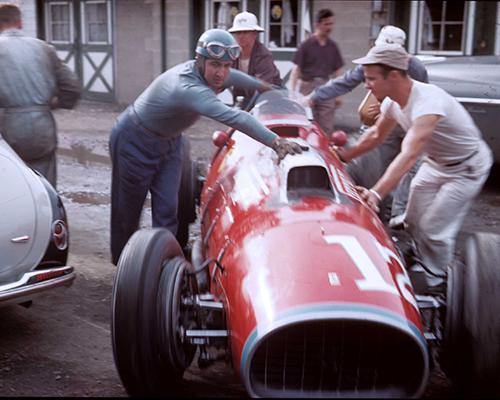 8w What Ferrari At Indianapolis