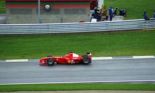 Michael Schumacher, Ferrari F1-2000, 2000 US GP