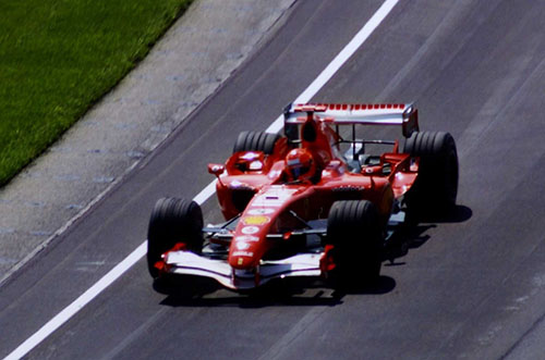 Michael Schumacher, Ferrari 248 F1, 2006 US GP
