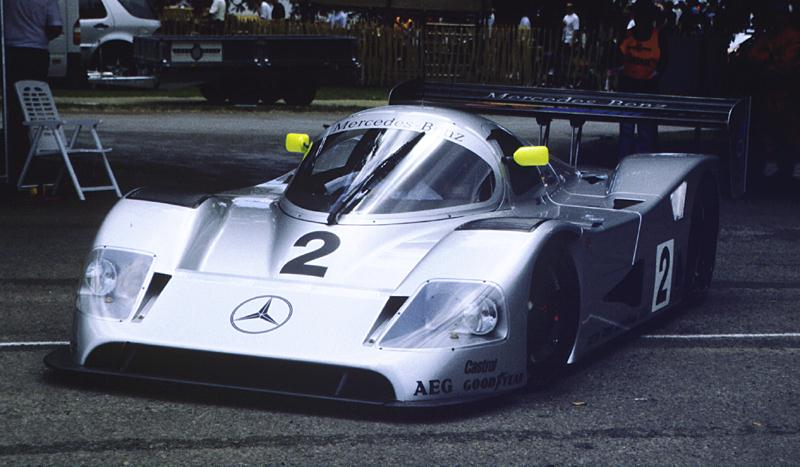 Sauber Mercedes C11 at the 1999 Goodwood Festival of Speed