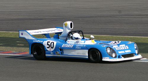 Matra MS670C at the 2009 Silverstone Classic