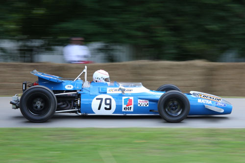 Matra-Cosworth MS80 at the 2008 Festival of Speed