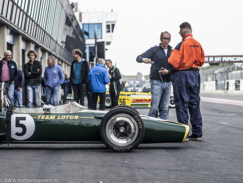 Chris MacAllister, Lotus 49 R2, 2017 Zandvoort Historic GP