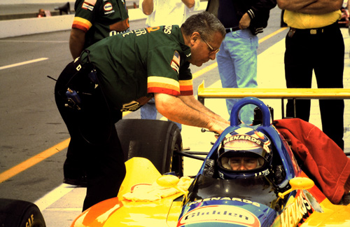 Buddy Lazier, Sonny Meyer, Indianapolis 1995