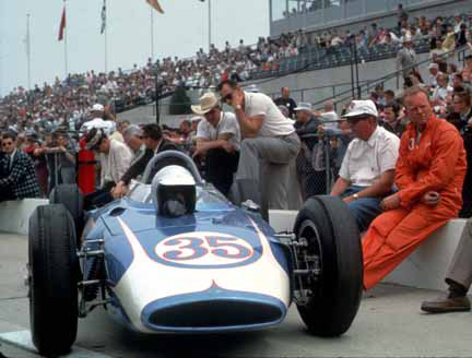 Chuck Daigh, Thompson-Buick, 1962 Indianapolis 500