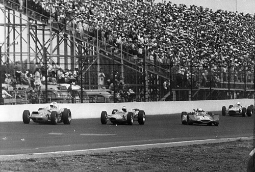 Turn Four, Lap 2, 1964 Indianapolis 500