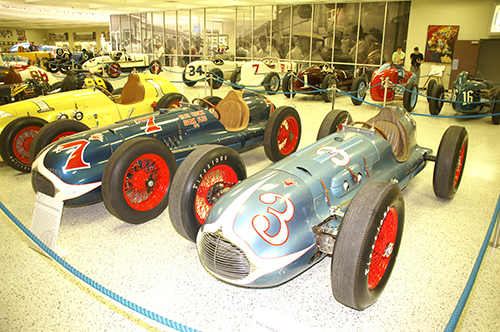 Moore's Indy winners, IMS Museum, May 2011