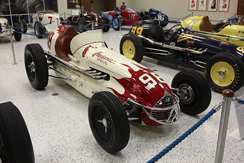 Troy Ruttman, Agajanian Special, Indianapolis 1952, IMS Museum