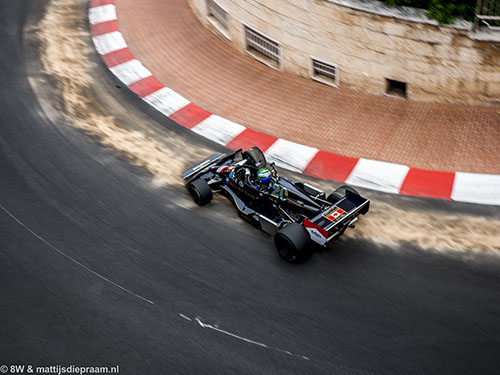 Nick Padmore, Wolf-Williams-Cosworth FW05, 2014 GP Monaco Historique