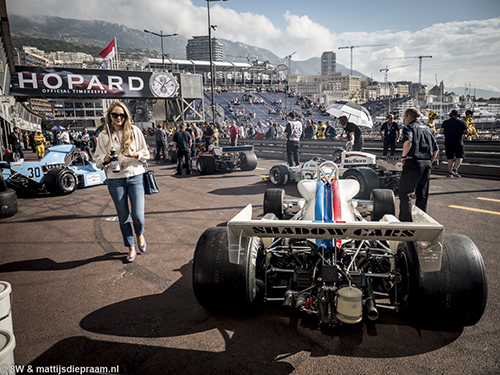 Joe Twyman, Shadow DN8, 2016 Monaco GP Historique