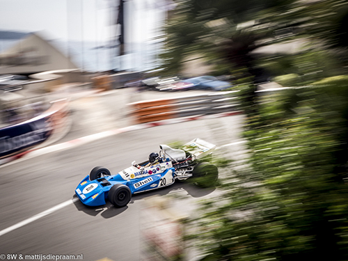Mr John of B, Matra MS120, 2016 Monaco GP Historique
