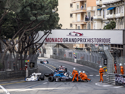 Ian Simmonds, Shadow DN5, 2016 Monaco GP Historique