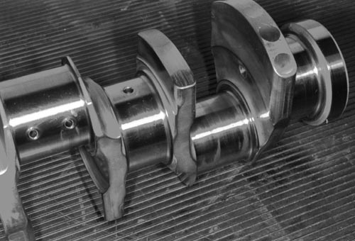 265E crankshaft detail
