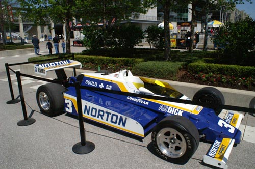 Bobby Unser's winning Penske PC9, Indianapolis 1981