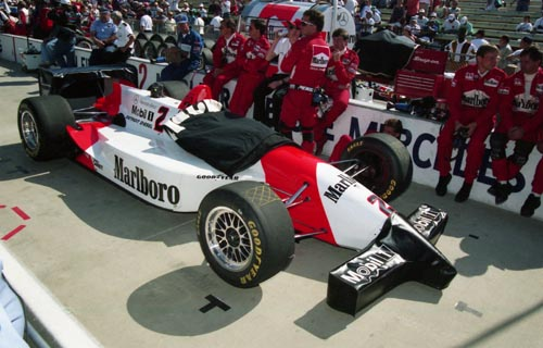 Fittipaldi, 1994 Indy 500, race day morning