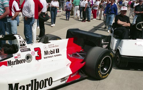 Paul Tracy's primary car