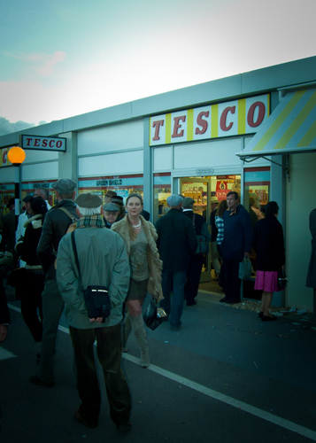Tesco supermarket, Goodwood Revival 2011