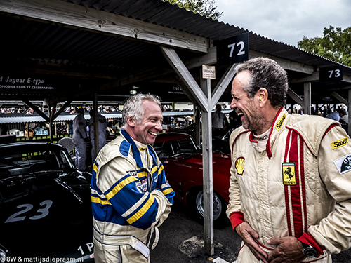 Gary Pearson, Marc Devis, 2013 Goodwood Revival