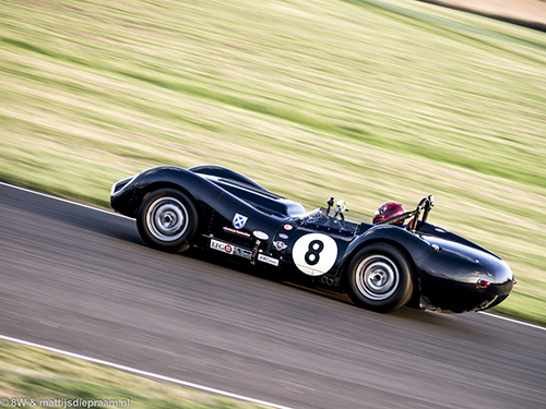 Nuthall/Wood, Lister Knobbly, 2014 Goodwood Revival