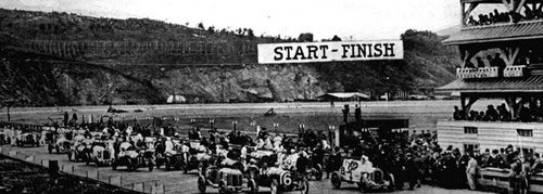 Starting grid for the Grand Prize in 1915