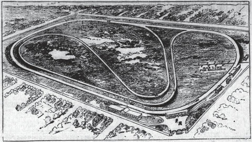 Indianapolis 1909, proposed layout